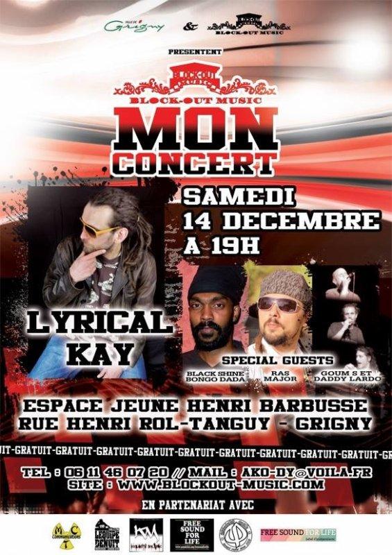 Mon concert