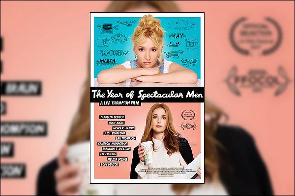 Découvrez l'affiche du film  The Year of Spectacular Men dans lequel joue Zoey Deutch.
