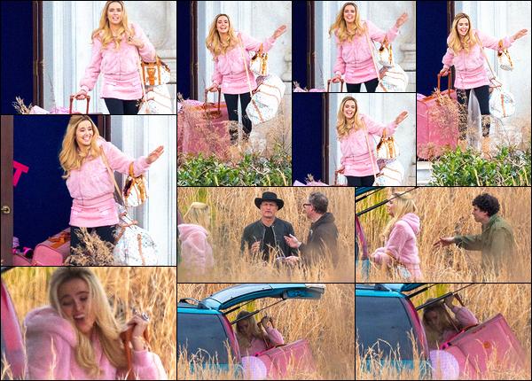 02 février 2019 : Zoey, toute de rose vêtue, a été aperçue sur le tournage de son procahin film Zombiland 2 à Atlanta. Enfin des news et pas des moindres.. Zoey va incarner une vraie pimbêche à en voir les photos. Elle porte une perruque blonde qui lui va bien. Vos avis ?