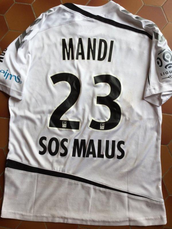 Maillot porté Aïssa Mandi