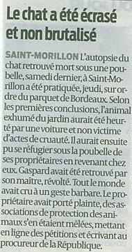 Justice pour Gaspard !