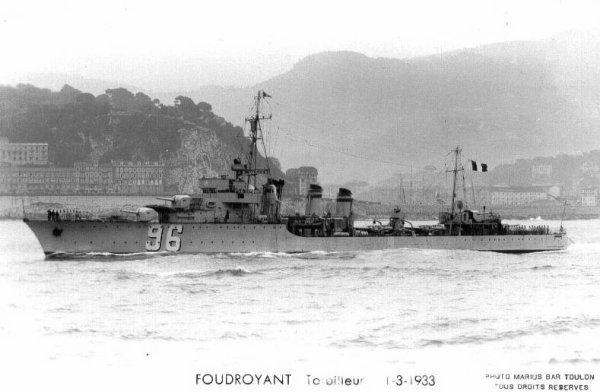 Opération Dynamo..La fin tragique du Torpilleur T96   Le Foudroyant..