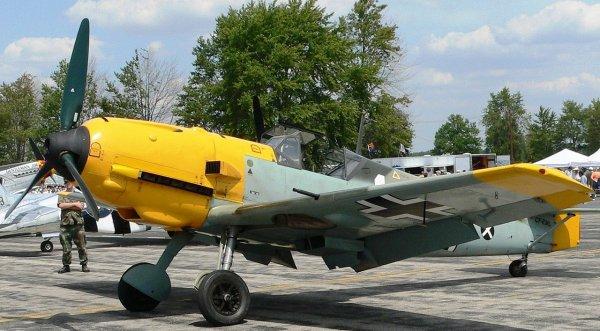 Dynamo ..Avions Allemand dans le ciel de Dunkerque en 1940...Le ME 109..