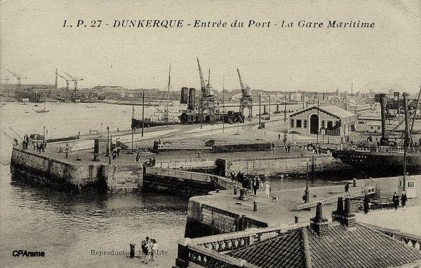 La gare de Dunkerque..