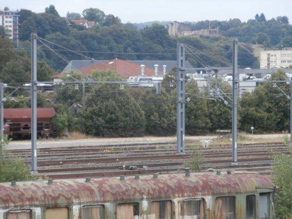 Visite sur le faisceau de triage de la gare de Nancy...au parc VB..