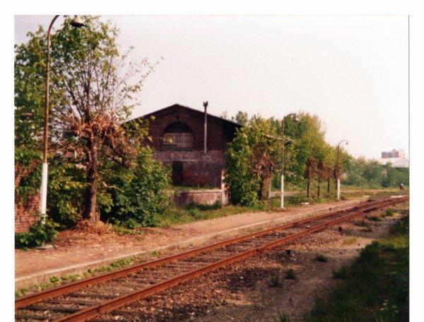 La gare de Rosendael ce 10  Aout 1991...
