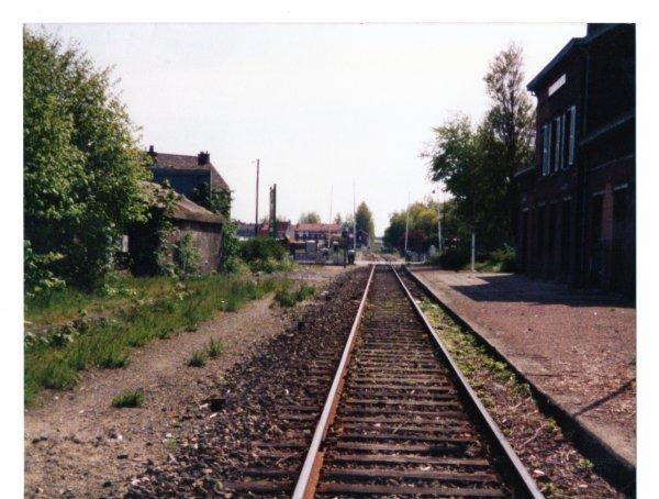 La gare de Rosendael  ce 10 Aout 1991..1991..