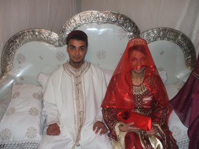 Robe pour fiancaille marocain