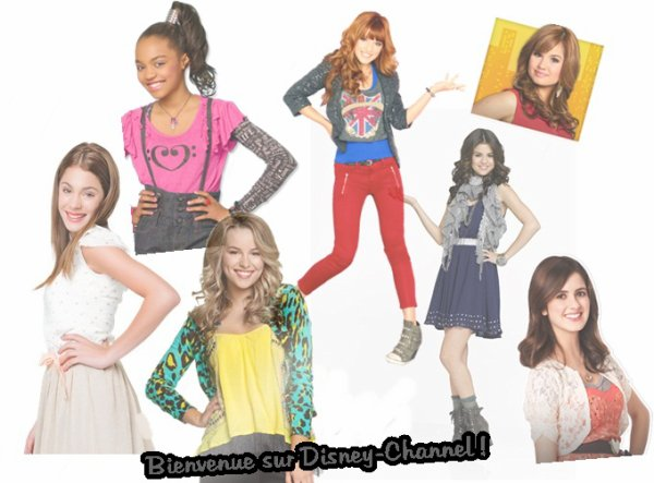 Bienvenue sur Disney-Channel ! ♥