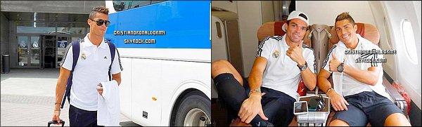 26/07/13: C. et le Real arrive à Goteborg, Suède: découvrez les photos ci-dessous. PSG-Real Madrid: 0-1. Grâce à un but de Benzema, le Real s'impose 1-0 face au PSG, vous l'aurez compris aucun but de C. Les photos du match ci-dessous!
