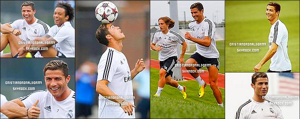 08/08/13 : Le Real a quitté Miami pour Saint-Louis afin de disputer le match face à l'Inter Milan . Découvrez leur arrivée à Saint-Louis, puis une photo personnelle de Pepe a été posté où apparaît Cris et Coentrao .