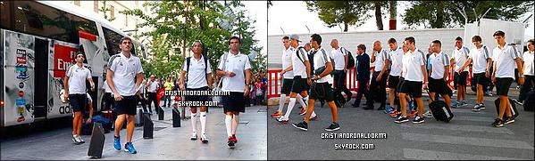 23/08/13 : Cristiano et Irina sont allés voir un spectacle de Flamenco au café de Chinitas .