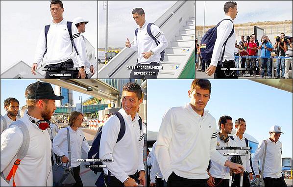 16/09/13 : Cristiano et le Real arrive à Istanbul pour disputer leur premier match de Ligue des Champions . Le 17/09, le Real affrontera Galatasaray à Istanbul. Diffusion 17/09 - 20h40 - BeinSport 2 .
