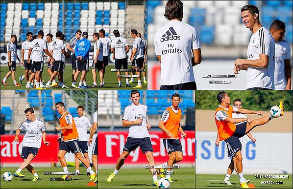 19/09/13 & 20/09/13 : Cristiano était à l'entraînement du Real , le dernier avant le match de dimanche face à Getafe pour la 5 ème journée de Liga - Diffusion 22/09 - 18h55 - BeinSport 2