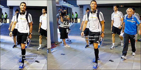20/09/13 : Cristiano était au restaurant Asador .
