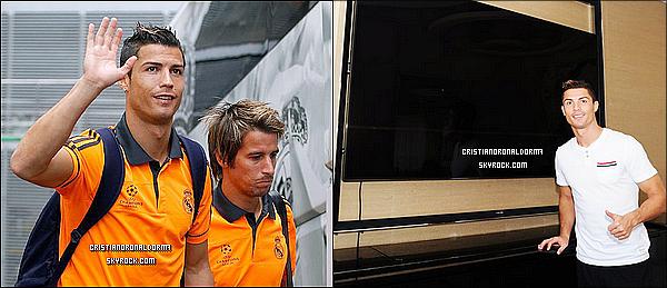 1/10/13: Cristiano s'est rendue à l'entraînement du Real: une préparation avant le match face à Copenhague Les madrilènes disputeront leur 2ème match de qualif. pour la LDC. Ils se sont rassemblés avant le match pour une conférence. Diffusion : 2/10 - 20h40 - Bein Sport 2