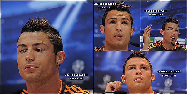 22/10/13 : Cristiano s'est rendu à l'entraînement du Real , le dernier avant le match face à Juventus Turin Diffusion du match - 23/10 - 20H40 - BeinSport 2 - Puis Cristiano s'est rendu à une conférence de presse (Interview en-dessous)