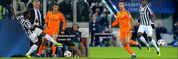 - 05/11/13 : Cristiano s'est entraîner avec le Real suite au match face à Juventus Turin qui aura lieu ce 05/11  Avec une grande complicité, il s'est préparé aux côtés de Bale, de Modric et bien entendu avec les autres joueurs. Diffusion : ↓ -