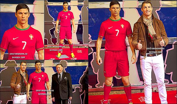 - 06/12/13 : Cristiano s'est entraîner avec le Real suite au match du 07/12 face à Olimpic Xativa -