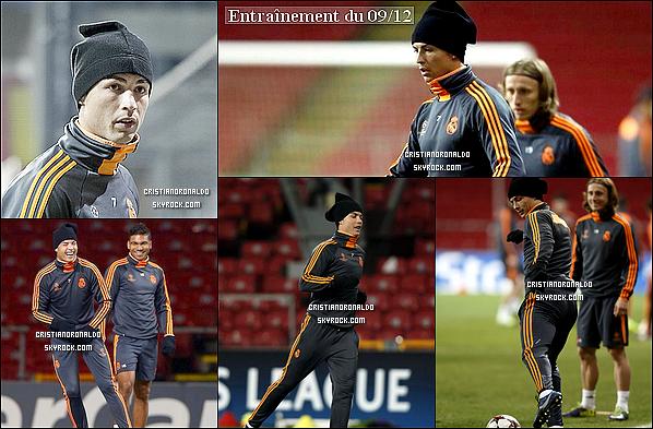 - 10/12/13 : Cristiano a disputé le dernier match de qualification pour la LDC face au FC Copenhague  Le Real s'est imposé 2-0 grâce à un but de Modric et de Cristiano . Il détient donc le record de but en phase de groupe en LDC -