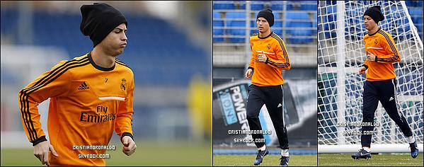 - 14/12/13 : Cristiano a disputé le match de Liga les opposant à Osasuna au stade El Sadar, Match nul 2-2  Le Real a été surpris par l'équipe d'Osasuna qui dominait 2-0, puis grâce à Isco et à Pepe, le Real arrache le match nul .  -