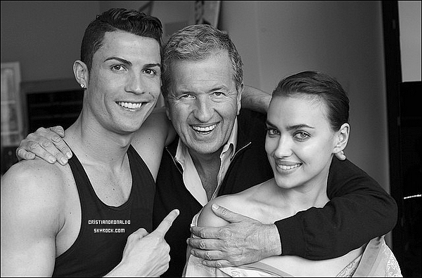 - Cristiano et Irina Shayk feront la couverture du magazine Vogue Espagne, Mai 2014 -