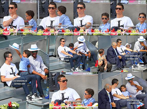 - 07/05/14 : Cristiano a disputait le match qui opposait le Real et Valladolid jusqu'à la huitième minute où il est sorti  Cristiano a préféré sortir du terrain à la huitième minute par simple précaution selon Ancelotti; pour cause un problème musculaire à sa cuisse gauche -