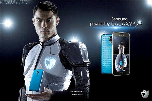- Nouvelle photo promo de Cristiano pour le nouveau Samsung Galaxy S5 / Galaxy 11  -