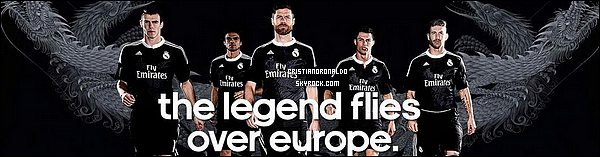 - ●  Découvrez le troisième maillot officiel du Real Madrid pour la Ligue des Champions Dessiné par le célèbre designer japonais Yohji Yamamoto, le nouveau maillot madrilène présente un dragon dessiné au niveau de la poitrine -