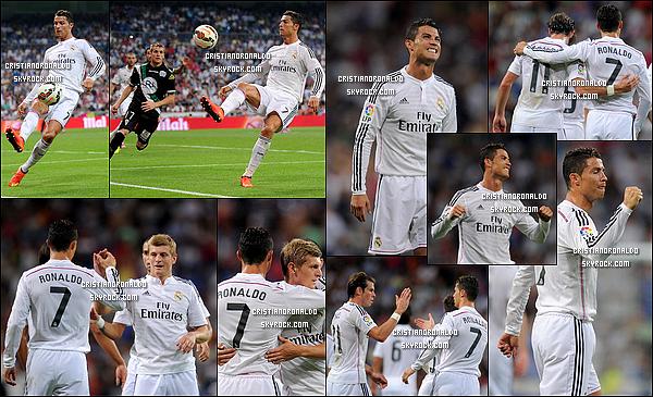 - 25/08/14 : Cristiano a disputé son 250ème match officiel avec le Real Madrid face à Cordoba avec une victoire  Benzema et Cristiano offrent la première victoire en Liga et donnent les trois premiers points de la saison au Real face à un courageux Cordoba -