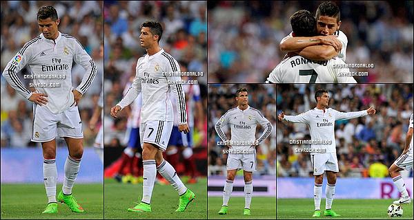 - 13/09/14 : Deuxième défaite 2-1 consécutive en liga du Real Madrid face à l'Atlético malgré un but de Cristiano  Les Blancs ont signé une brillante 1ère mi-temps, durant laquelle a marqué Cristiano, mais ont payé leur manque d'adresse face à l'Atlético -