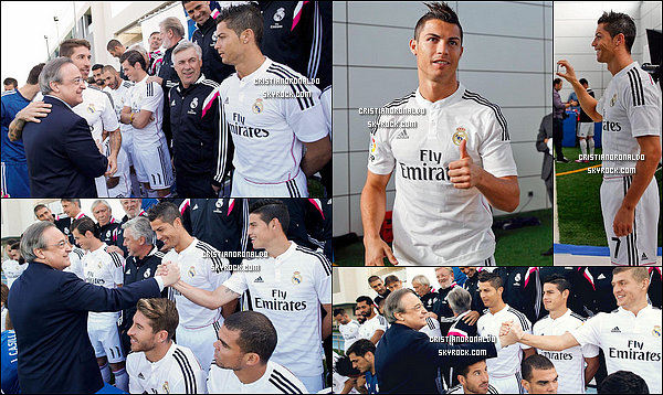 - 25/09/14 : PHOTO OFFICIELLE DU REAL MADRID POUR LA SAISON 2014/2015 -