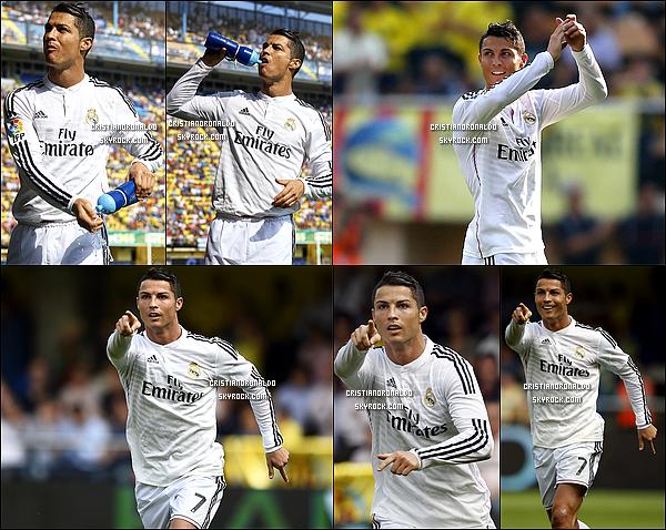 - 27/09/14 : Les madrilènes enchaînent leur quatrième victoire consécutive en Liga en battant 2-0 Villareal Un but de Modric et de Cristiano en première mi-temps ont offert la victoire au Real Madrid.Cristiano a ainsi marqué son 10ème but en Liga -