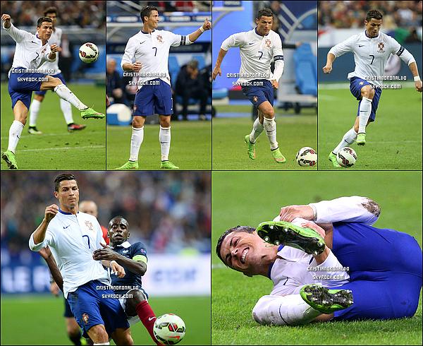 - 11/10/14 : Les bleus n'ont pas tremblé face à l'équipe du Portugal en s'imposant 2 buts à 1 au Stade de France Face à des Portugais accrocheurs et virevoltants, les Bleus se sont imposés 2-1 alors qu'ils ont souffert durant une bonne moitié du match...  -
