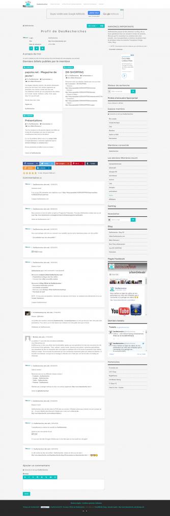 Profil DesRecherche.com