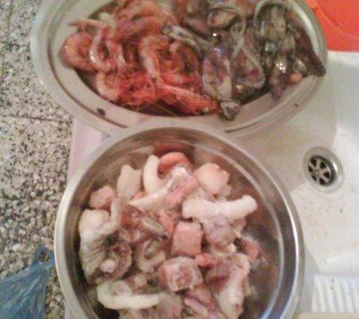 J'ai préparé un repas de l'espagnol (La Bella)  la maison