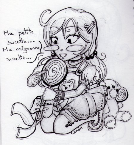 [ Illustra'Blog : Croquis Chibis ]