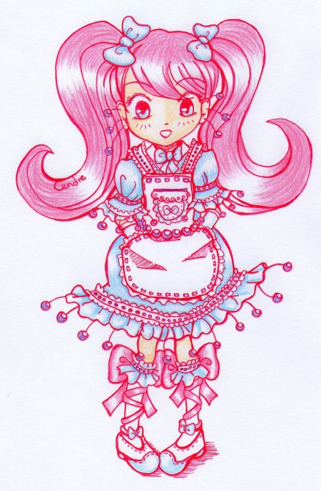 [ Illustra : Chibi Sweet Lolita ]