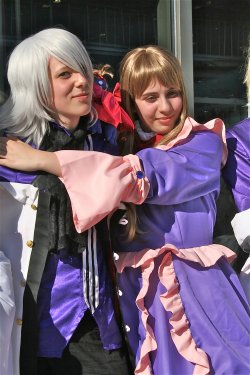 [ Japan Expo ; Photos groupe pandora hearts. ♥ ]