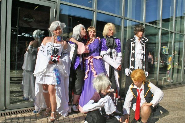 [ Japan Expo ; Photos groupe pandora hearts. ♥ ]