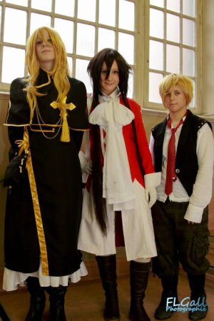 [ Cosplay Vincent Nightray ; Japan Addict Strasbourg 3&4 Sept' 2011 }