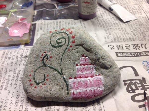 Peintures sur pierres