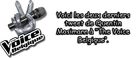 "Twitter ""The Voice Belgique"""