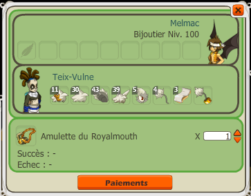 Amulette royalmouth :)