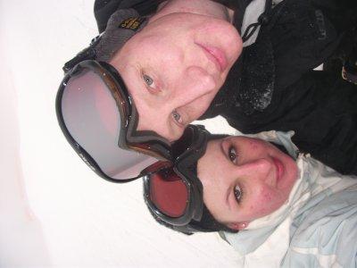 journée ski avec ma femme