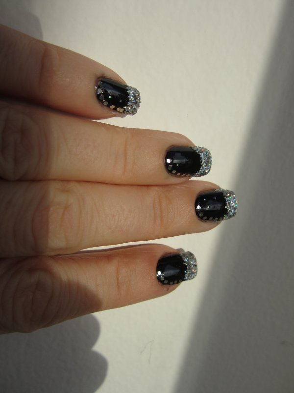 Nail art de nouvel an