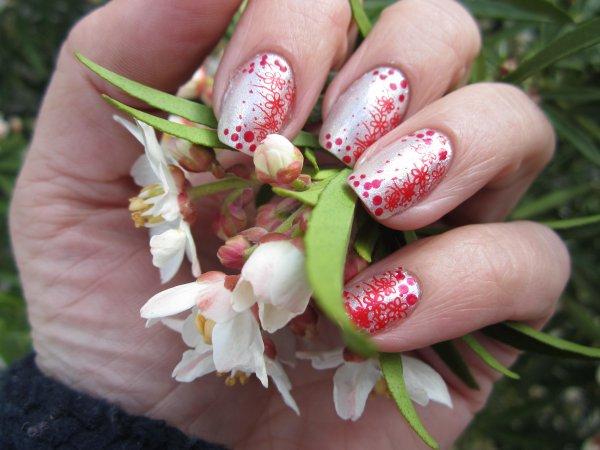 Nail art stamping KONAD