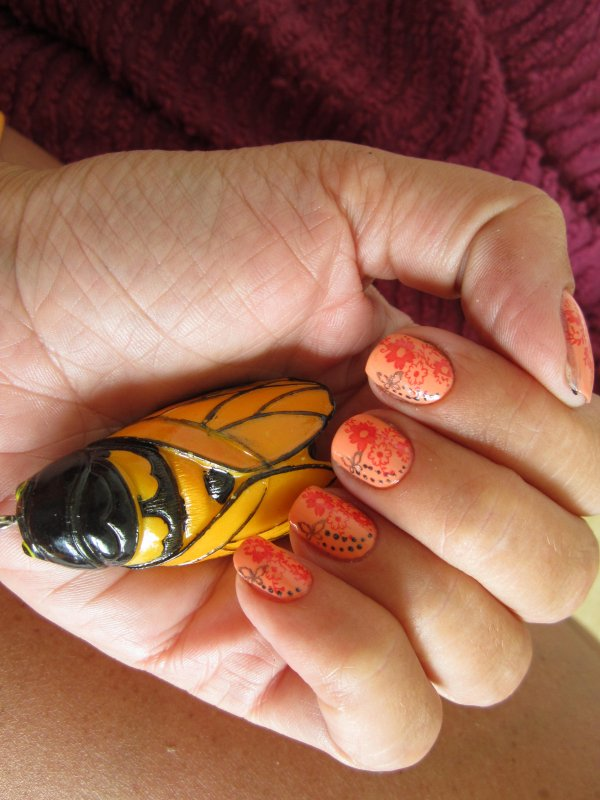 Anciens nail art jamais postés...