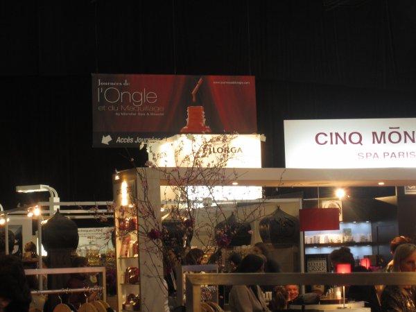 Salon SPA et journées de l'ongle 2013, j'y étais !!!!