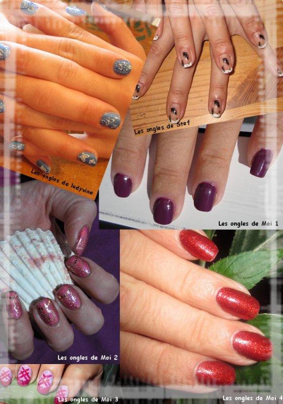 Medley de nail art